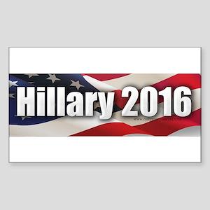 """Hillary 2016"" Sticker (Rectangle)"