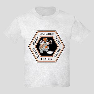 CATCHER HEXAGON Kids Light T-Shirt