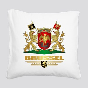 Brussel COA Square Canvas Pillow