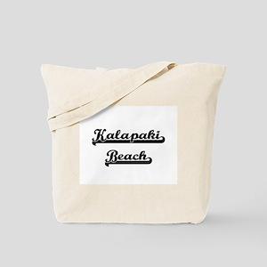 Kalapaki Beach Classic Retro Design Tote Bag