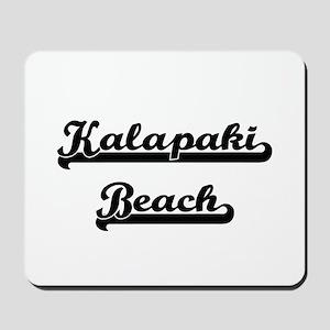Kalapaki Beach Classic Retro Design Mousepad