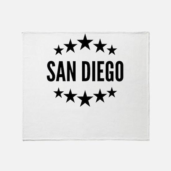 San Diego Throw Blanket
