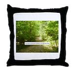 ParapsychologyOnline Website Throw Pillow