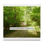 ParapsychologyOnline Website Tile Coaster