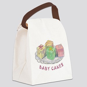 BABY CAKES Canvas Lunch Bag