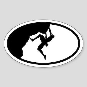 Climber Oval Sticker