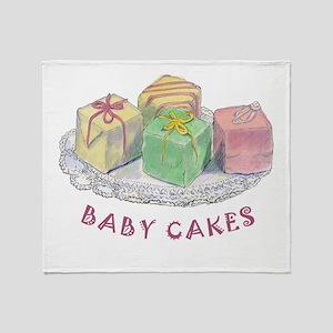 BABY CAKES Throw Blanket