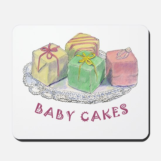 BABY CAKES Mousepad