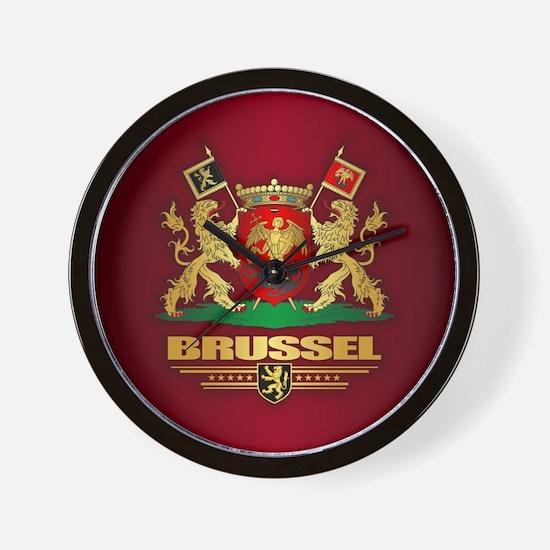 Brussel COA Wall Clock
