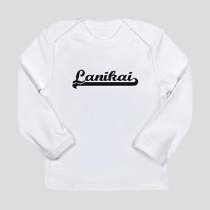 Lanikai Classic Retro Design Long Sleeve T-Shirt