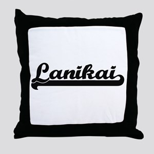Lanikai Classic Retro Design Throw Pillow