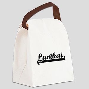 Lanikai Classic Retro Design Canvas Lunch Bag