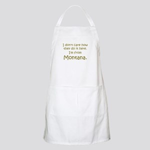 From Montana BBQ Apron