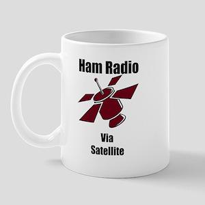 Ham Radio Via Satellite Mug