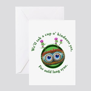 Scottish hogmanay greeting cards cafepress auld lang syne greeting cards m4hsunfo