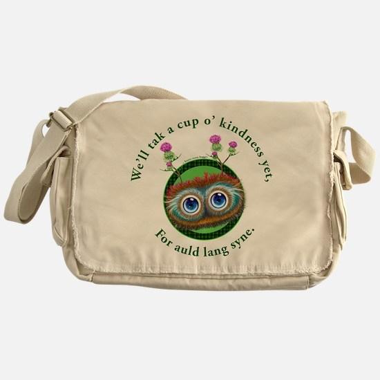 Hoots Toots Haggis. Auld Lang Syne Messenger Bag