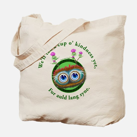 Hoots Toots Haggis. Auld Lang Syne Tote Bag