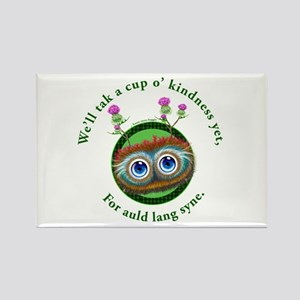 Hoots Toots Haggis. Auld Lang Syne Magnets