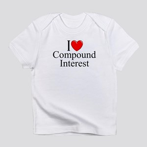 """I Love (Heart) Compound Interest"" T-Shirt"