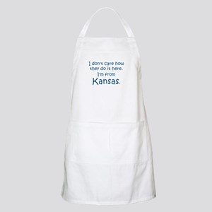 From Kansas BBQ Apron