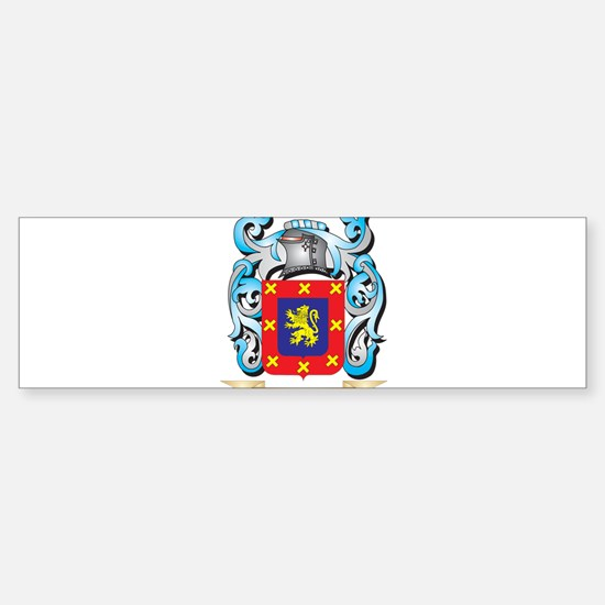 Bengtsson Coat of Arms - Family Cre Bumper Bumper Bumper Sticker