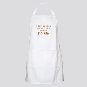 From Florida BBQ Apron