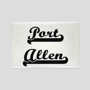 Port Allen Classic Retro Design Magnets