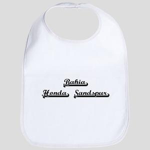 Bahia Honda Sandspur Classic Retro Design Bib