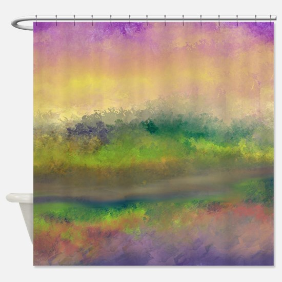 The Creek Bed Shower Curtain