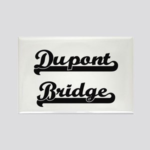 Dupont Bridge Classic Retro Design Magnets