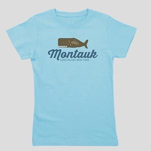 Montauk - Long Island. Girl's Tee