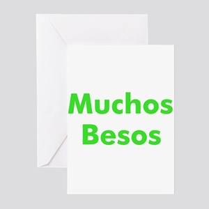 Muchos Besos Greeting Cards (Pk of 10)