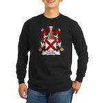 Lande Family Crest Long Sleeve Dark T-Shirt