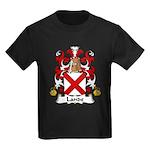 Lande Family Crest Kids Dark T-Shirt