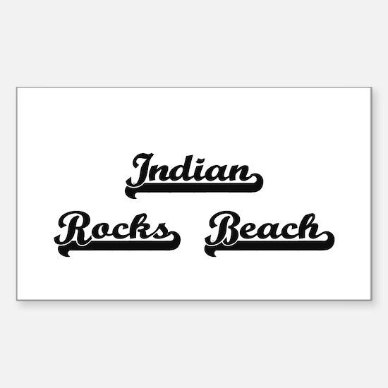 Indian Rocks Beach Classic Retro Design Decal