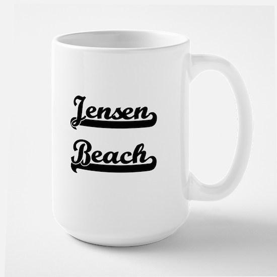 Jensen Beach Classic Retro Design Mugs
