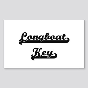 Longboat Key Classic Retro Design Sticker