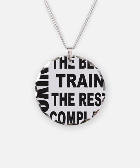 BOXING THE BEST TRAIN THE RE Necklace