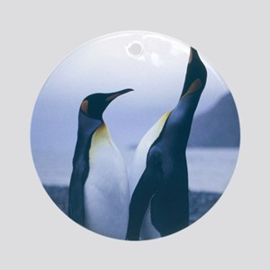 King Penguins Ornament (Round)