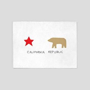California Republic 5'x7'Area Rug