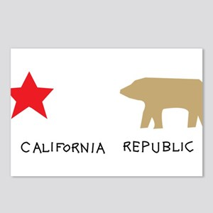 California Republic Postcards (Package of 8)