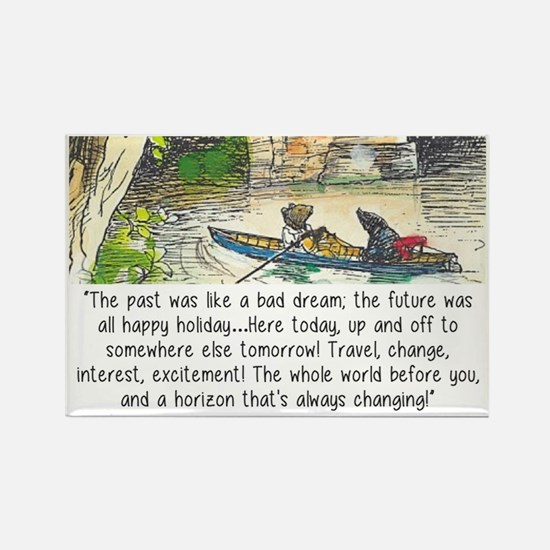 wind in the willows Rectangle Magnet