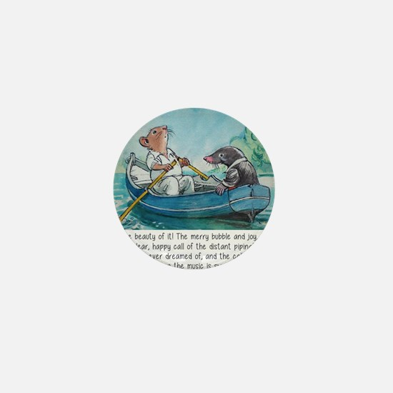 wind in the willows Mini Button