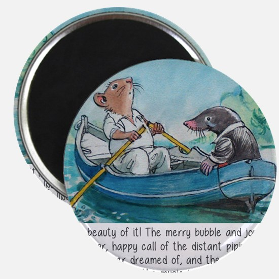 wind in the willows Magnet