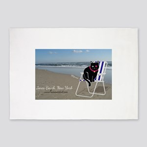 Sammie Jones Beach 5'x7'area Rug