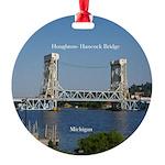 Houghton Hancock Bridge Round Ornament