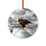 Bald Eagle Round Ornament