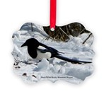 Black Billed Rocky Mountain Picture Ornament