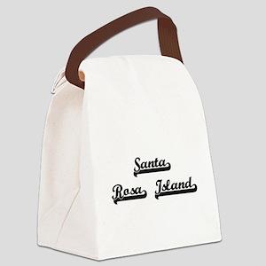Santa Rosa Island Classic Retro D Canvas Lunch Bag
