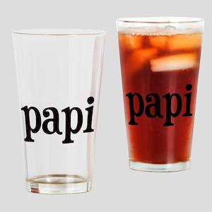 papi Drinking Glass